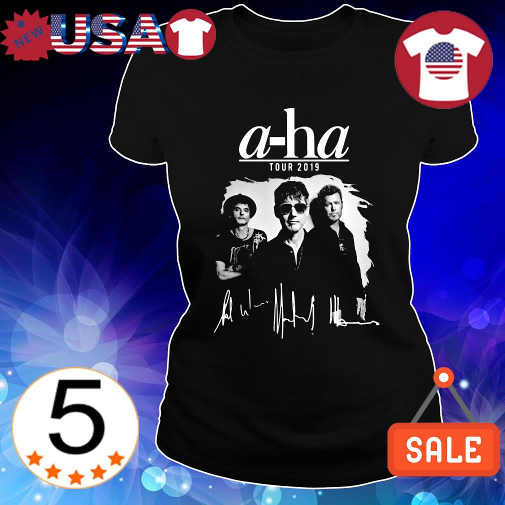 A-Ha tour 2019 signature shirt