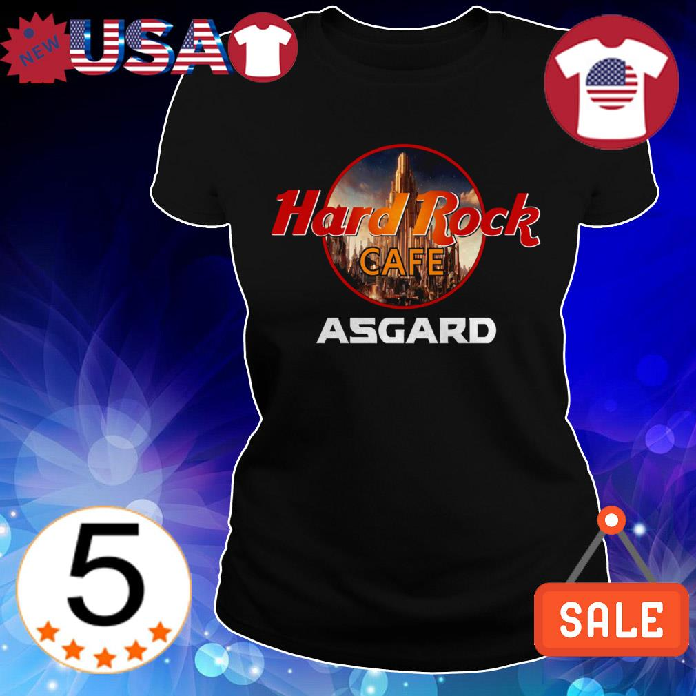 Thor Hard Rock CAFE Asgard shirt
