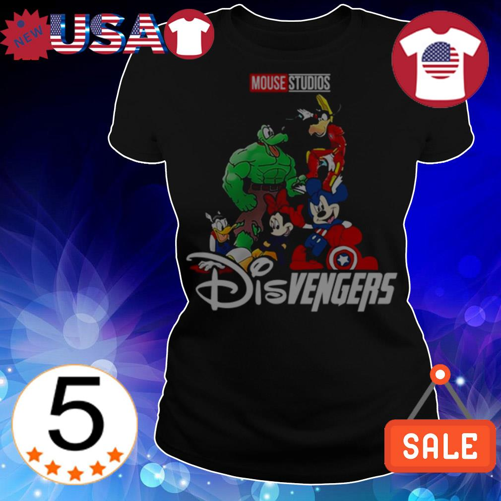 Disvengers Mouse studios Marvel Avengers shirt