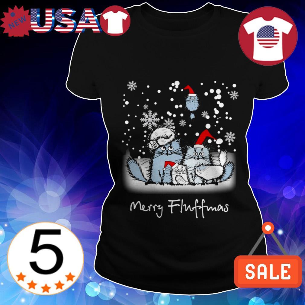 Cat Santa Merry Fluffmas sweater