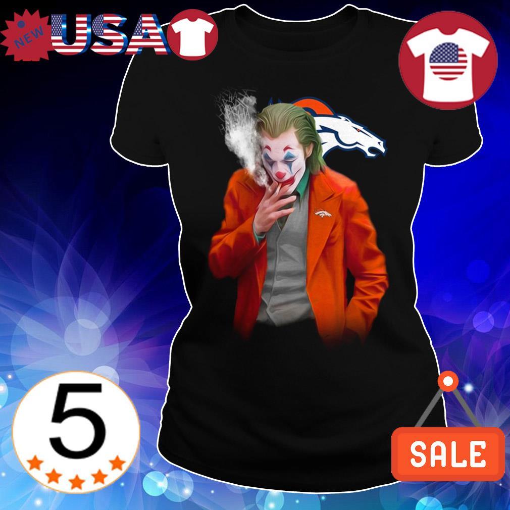 Joker Joaquin Phoenix Denver Broncos shirt