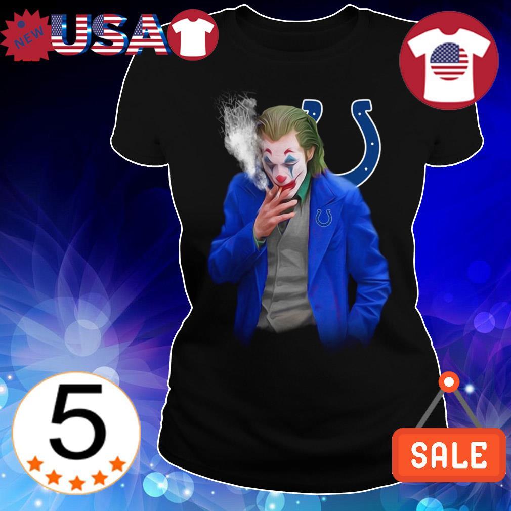 Joker Joaquin Phoenix Indianapolis Colts shirt