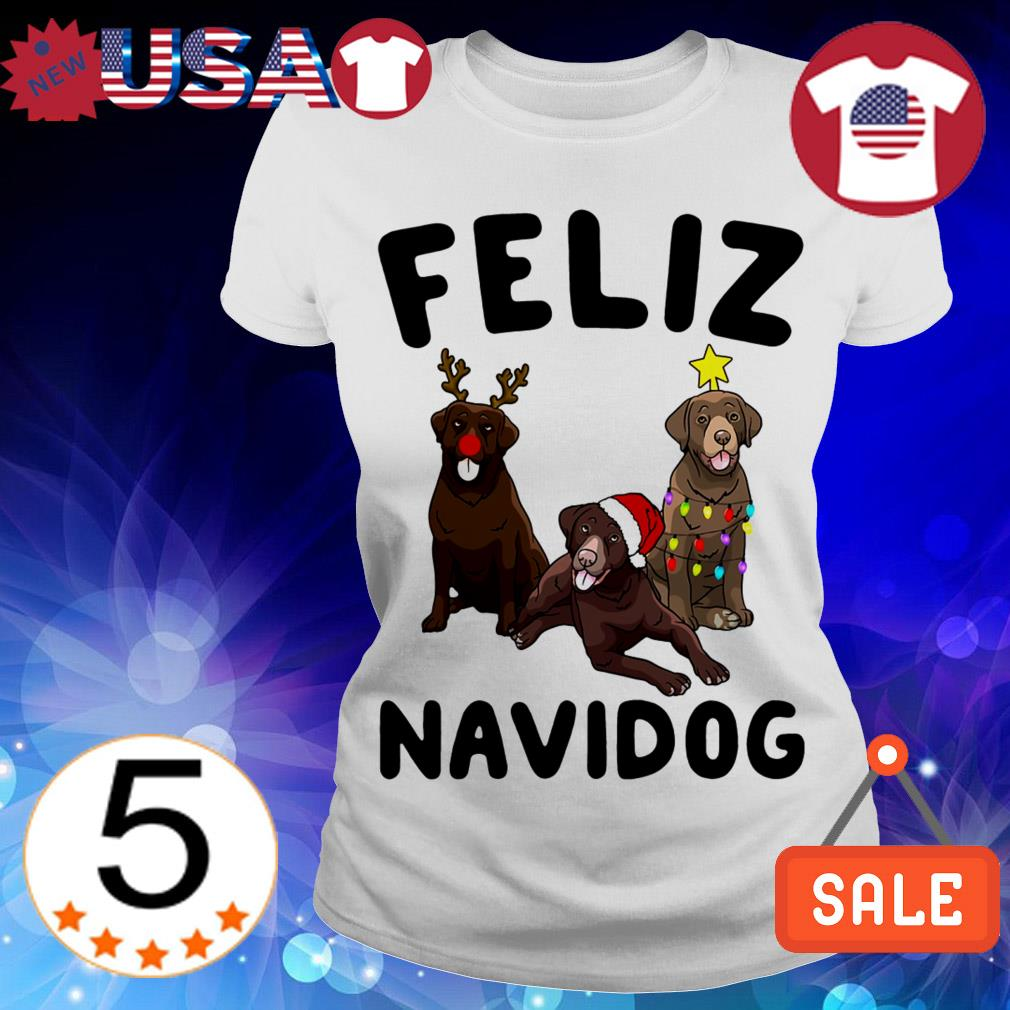 Feliz Navidog Chesapeake Bay Retriever Crewneck Christmas sweater