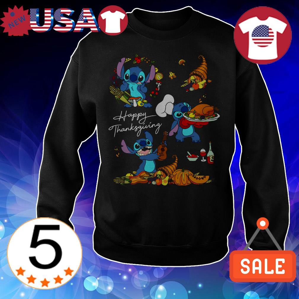 Disney Stitch Happy Thanksgiving shirt