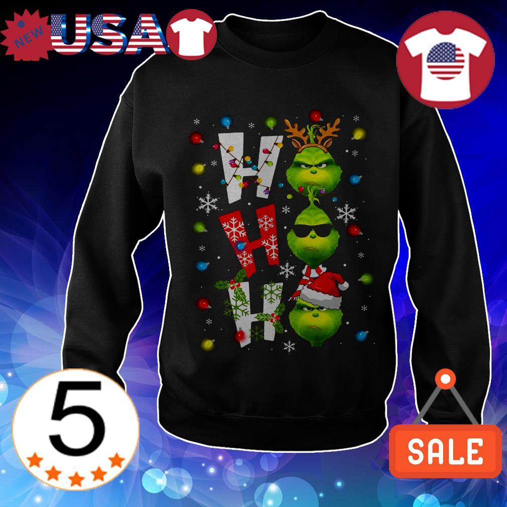 Grinch Ho Ho Ho Chirstmas sweater