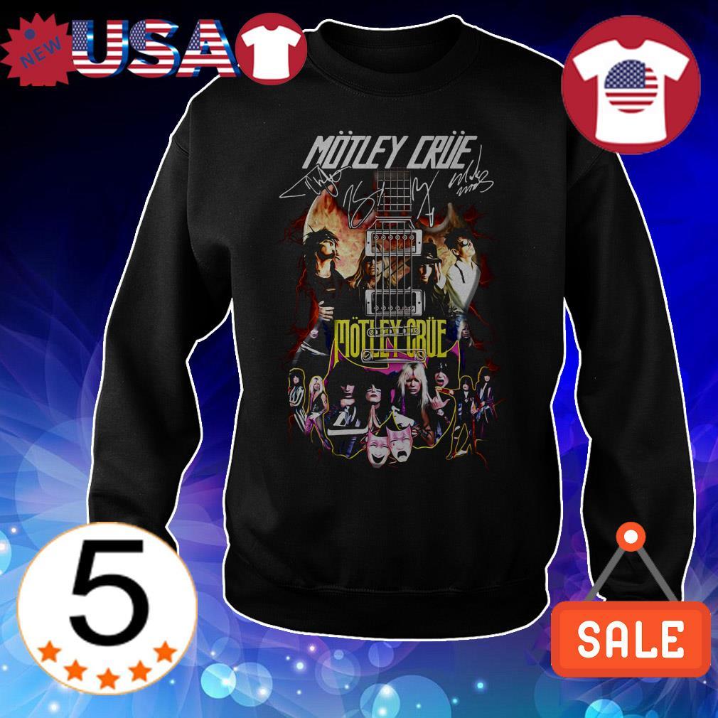 Motley Crue in Electric Guitar signature shirt