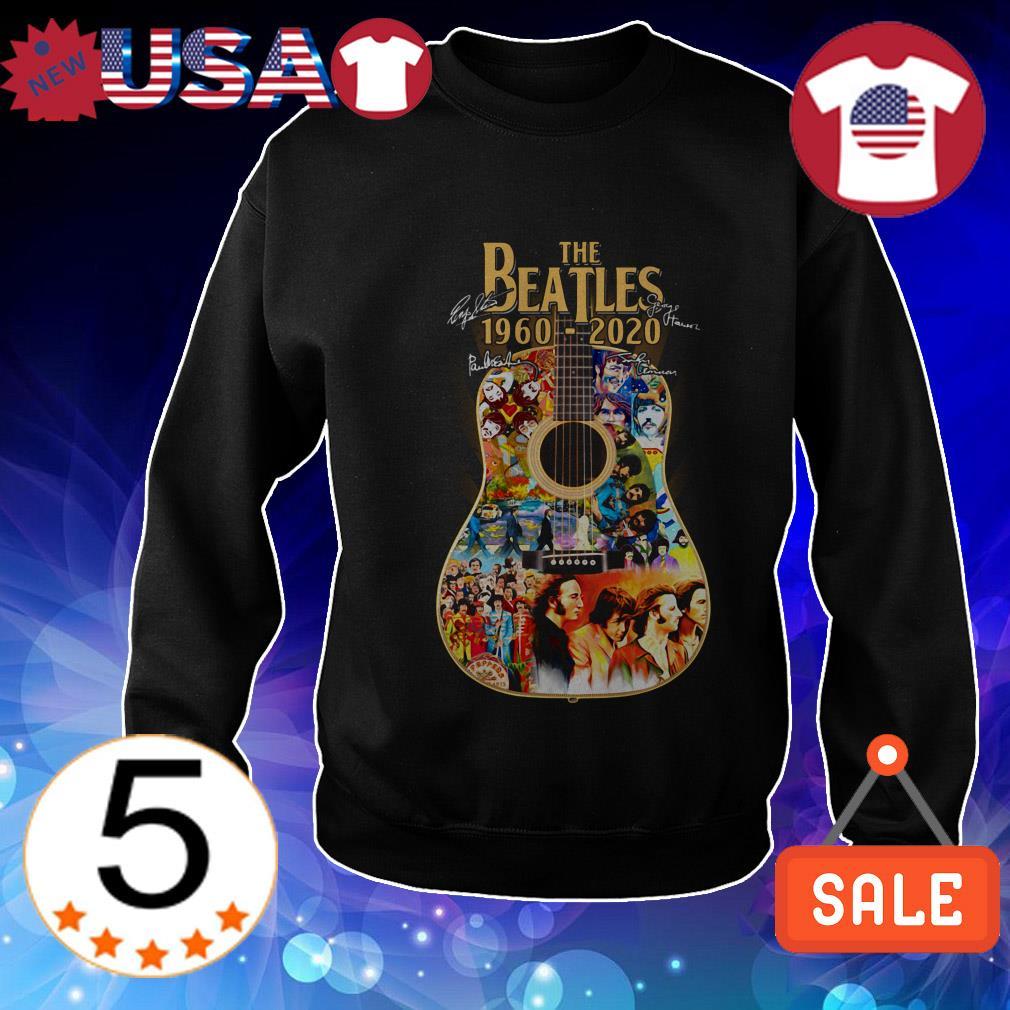 The Beatles 1960-2020 Guitars signature shirt