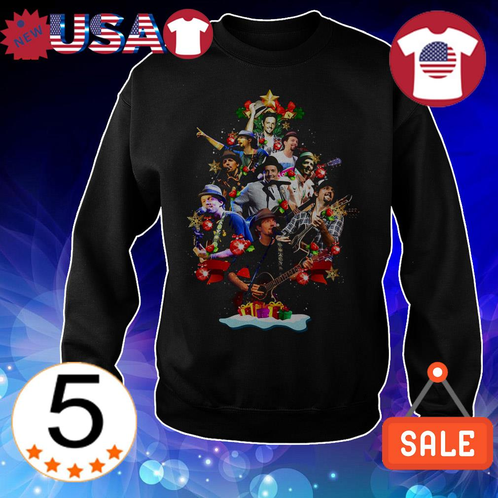 Jason Mraz Christmas tree sweater
