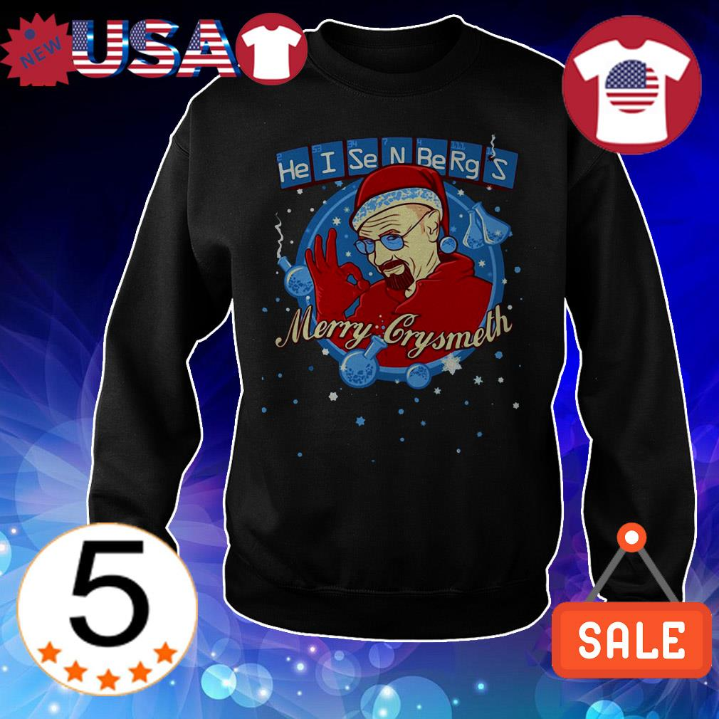 Merry Chrysmeth – Breaking Bad Christmas Santa sweater