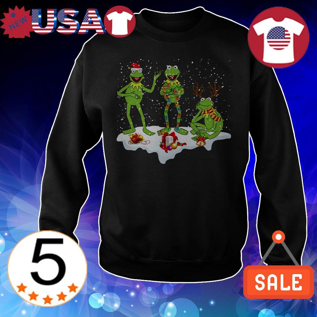 Kermit Frog Christmas sweater