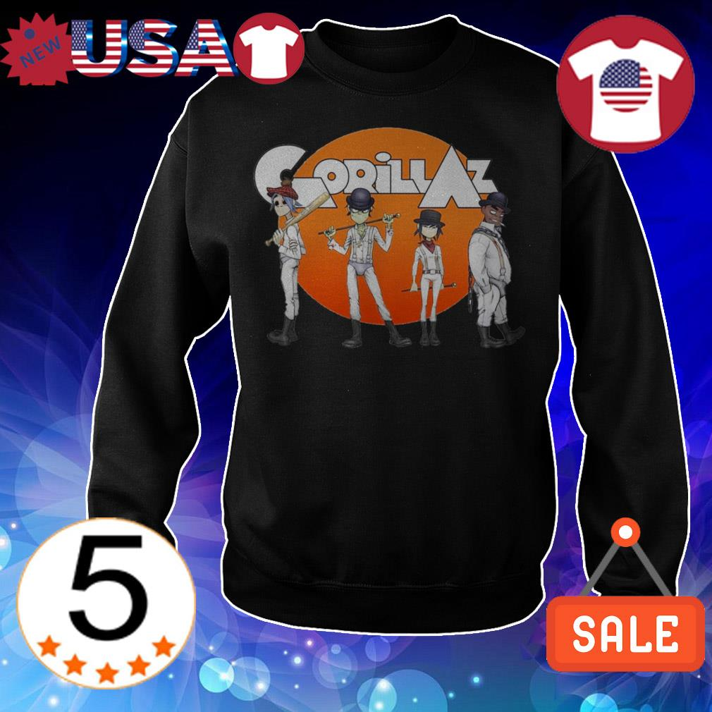 Gorillaz Clockwork Orange shirt