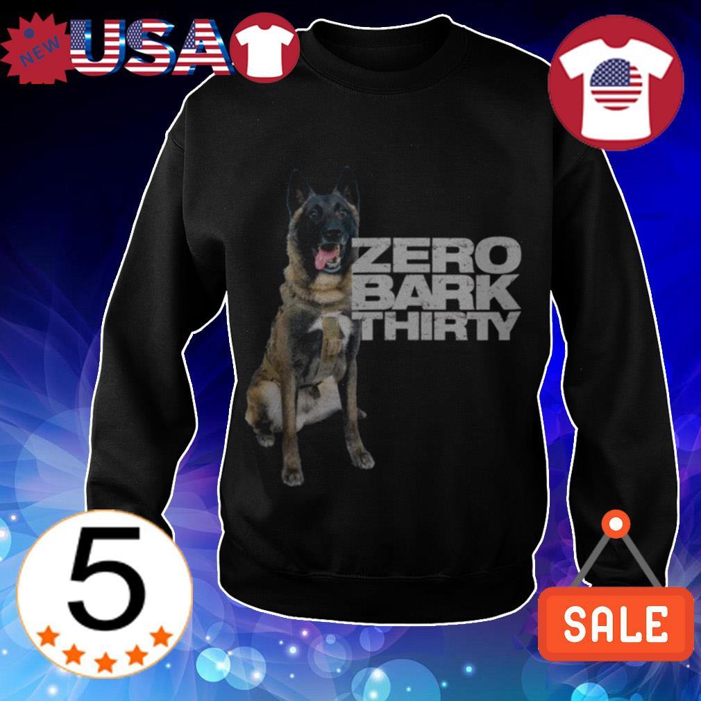 Conan Military hero dog zero bark thirty shirt
