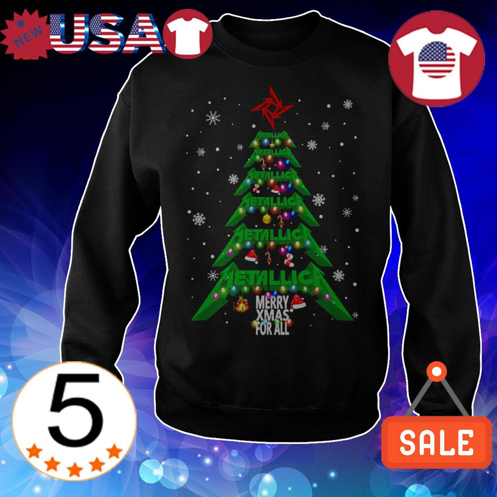 Metallica Merry Xmas for all Christmas tree sweater