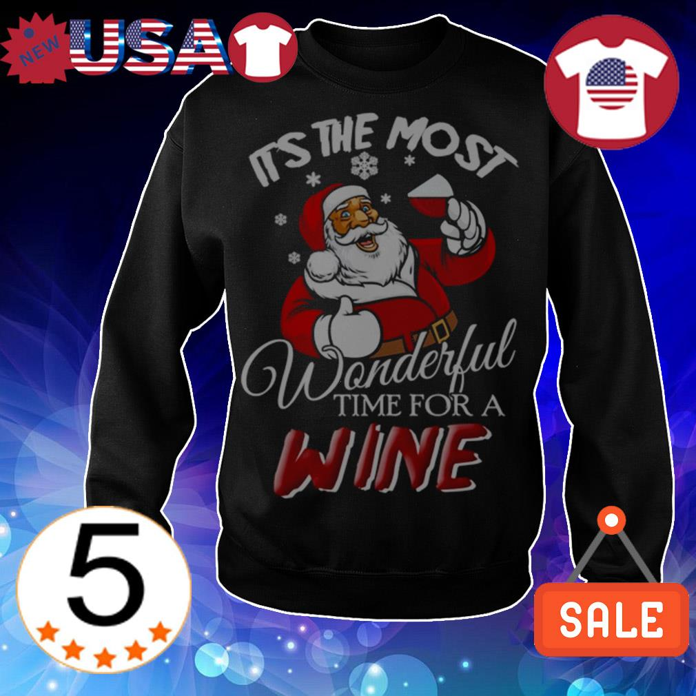 Santa Claws It's the most wonderful time for a wine Christmas sweater