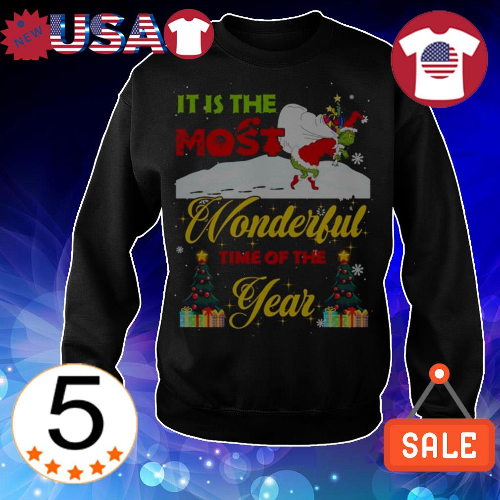 It is the most wonderful time of the year Christmas sweater