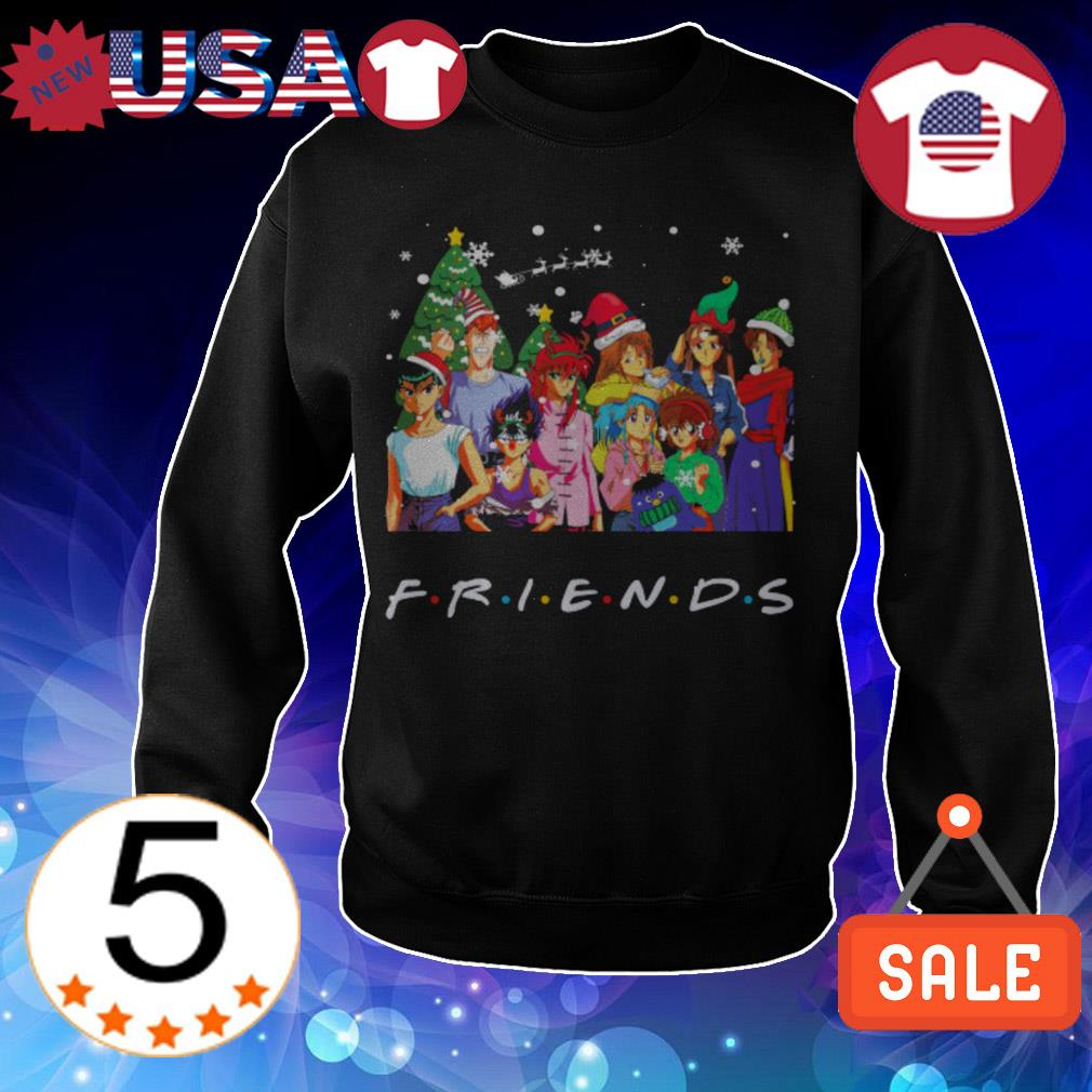 Yu Yu Hakusho x Christmas Friends TV Show sweater