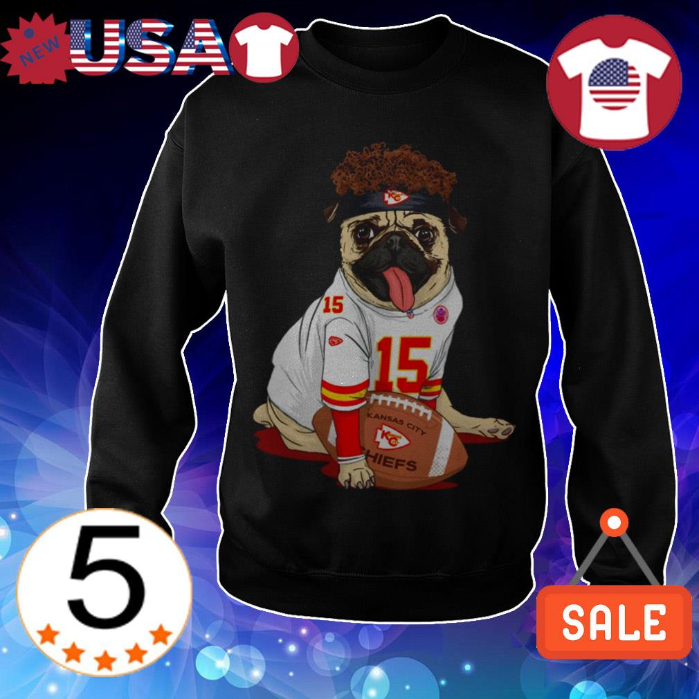 Kansas City Chiefs French Bulldog shirt
