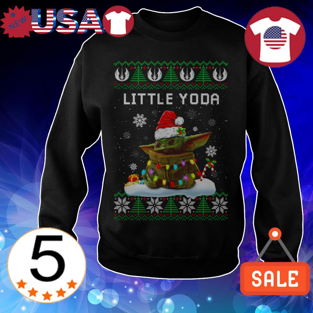 Star Wars Baby Little Yoda Christmas sweater