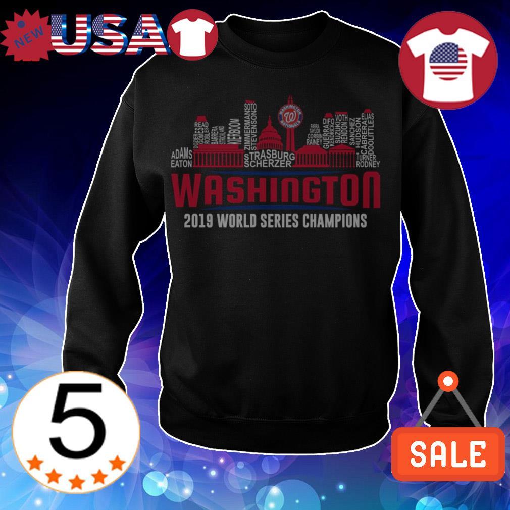 Washington Nationals World Series 2019 Champions all players shirt