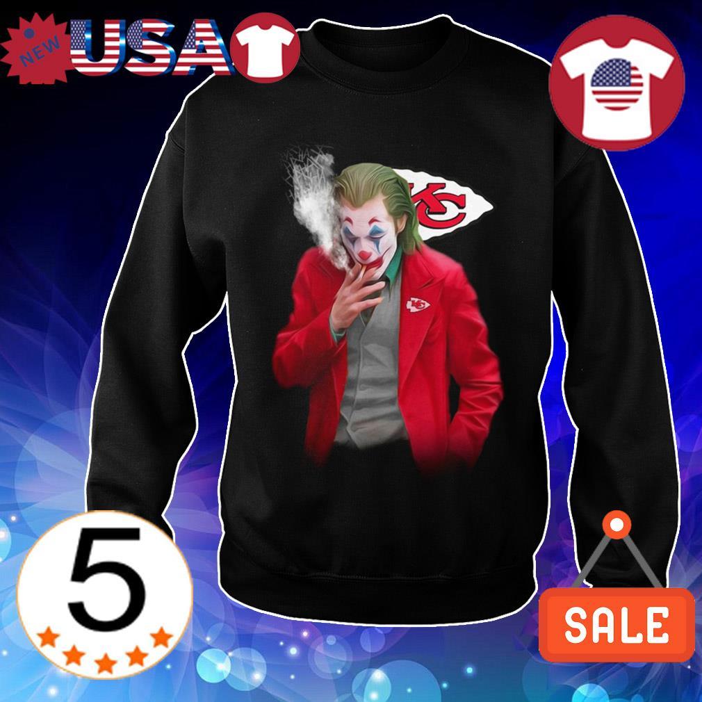 Joker Joaquin Phoenix Kansas City Chiefs shirt