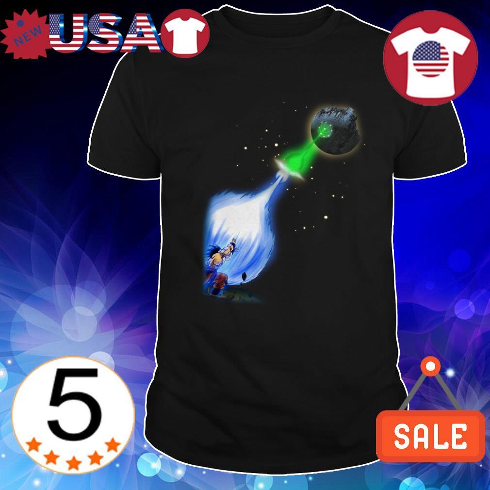 Goku Kamehameha Death Star shirt