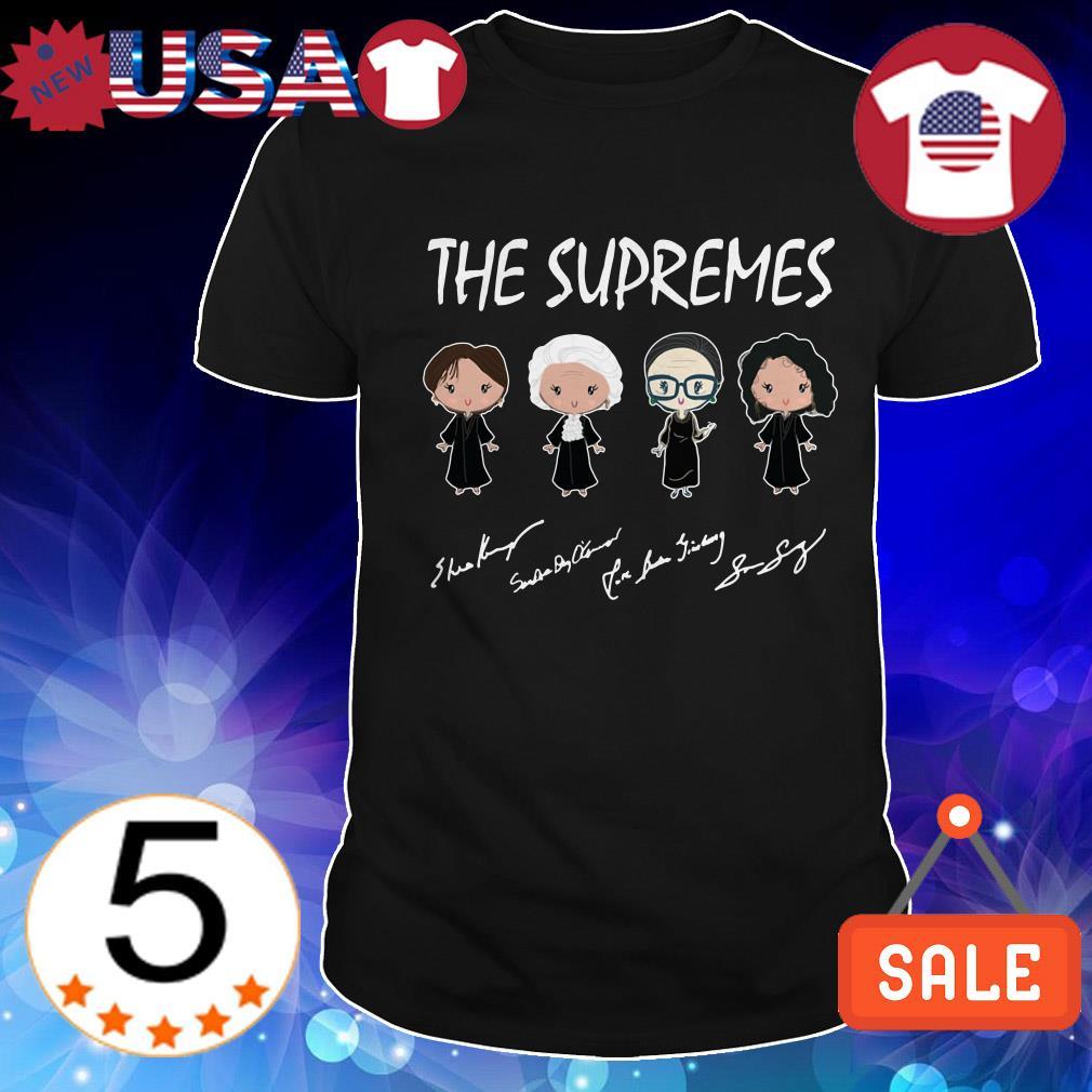 The Supreme Golden Girls signature shirt