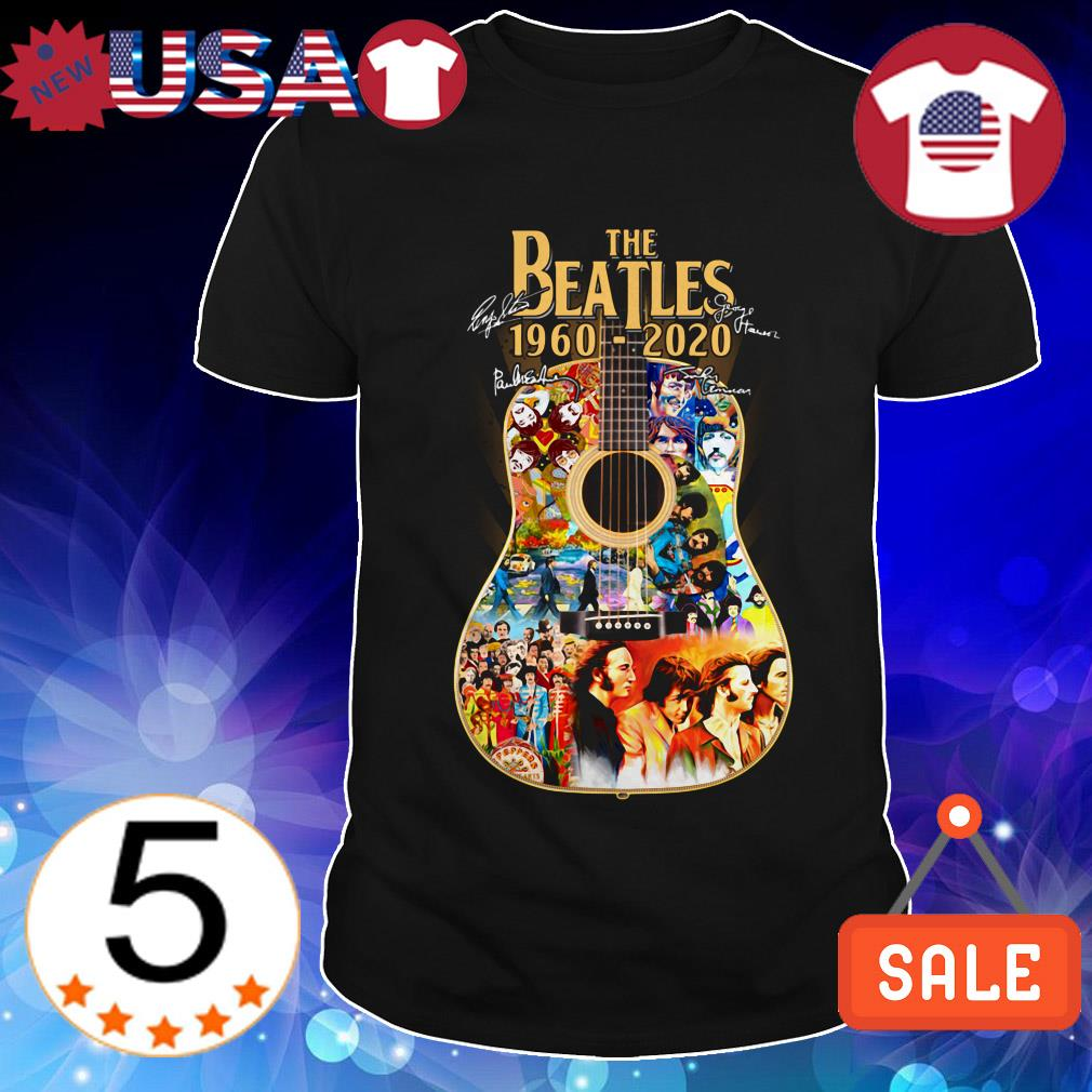 The Beatles 1960-2020 Guitars signature shirt
