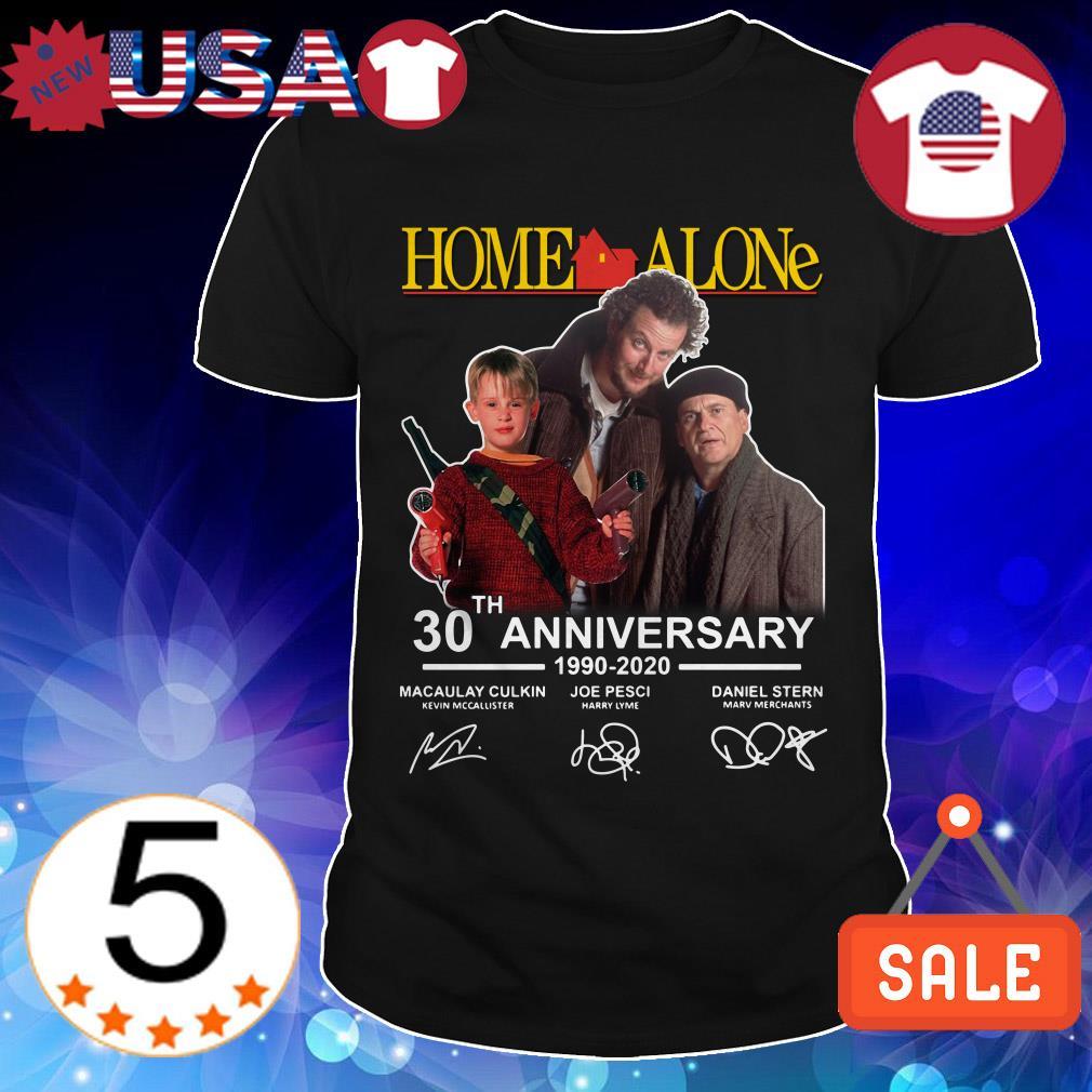 Home Alone 30th Anniversary 1990 2020 signature shirt