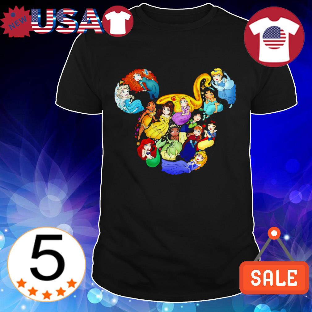 Disney Princess Mickey ears shirt