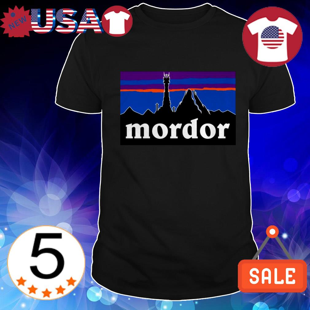 Mordor Lord of the rings shirt