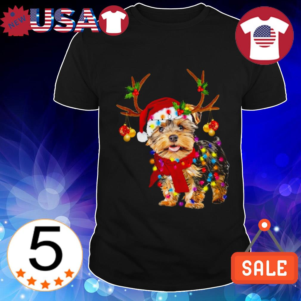 Yorkshire terrier gorgeous reindeer Christmas sweater