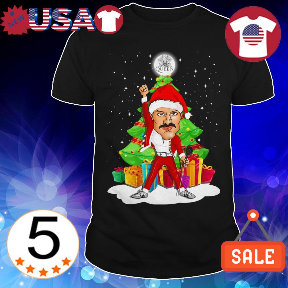 Queen Freddie Mercury Christmas tree sweater