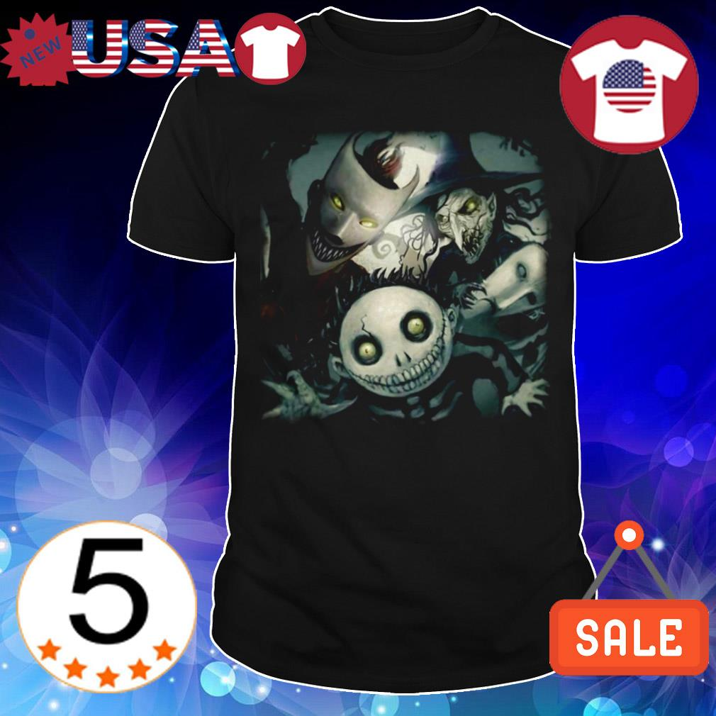 Scary nightmare before Christmas Lock Shock and Barrel sweater