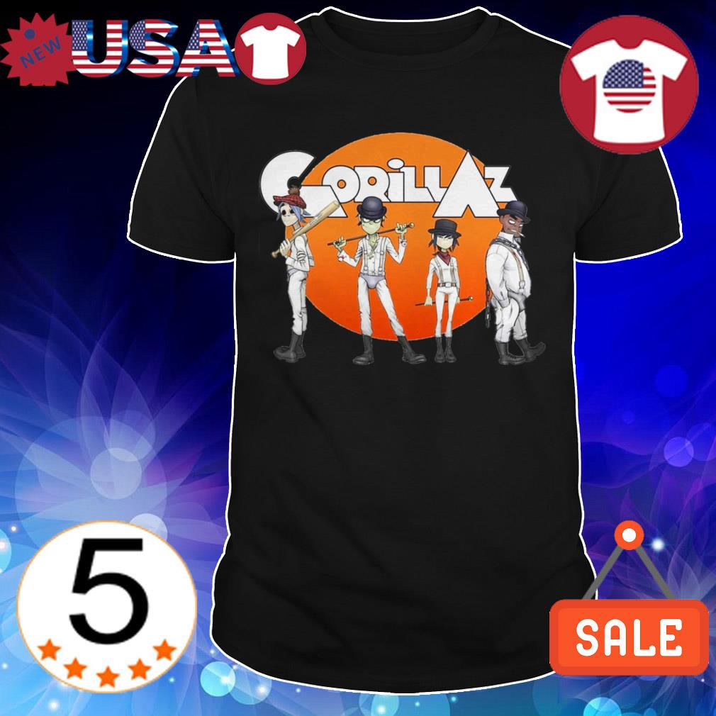 Gorillaz Clockwork Orange shirt