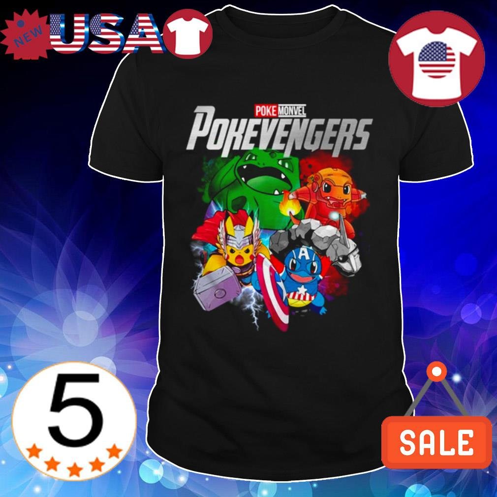 Marvel Avengers PokeMonvel Pokevengers shirt