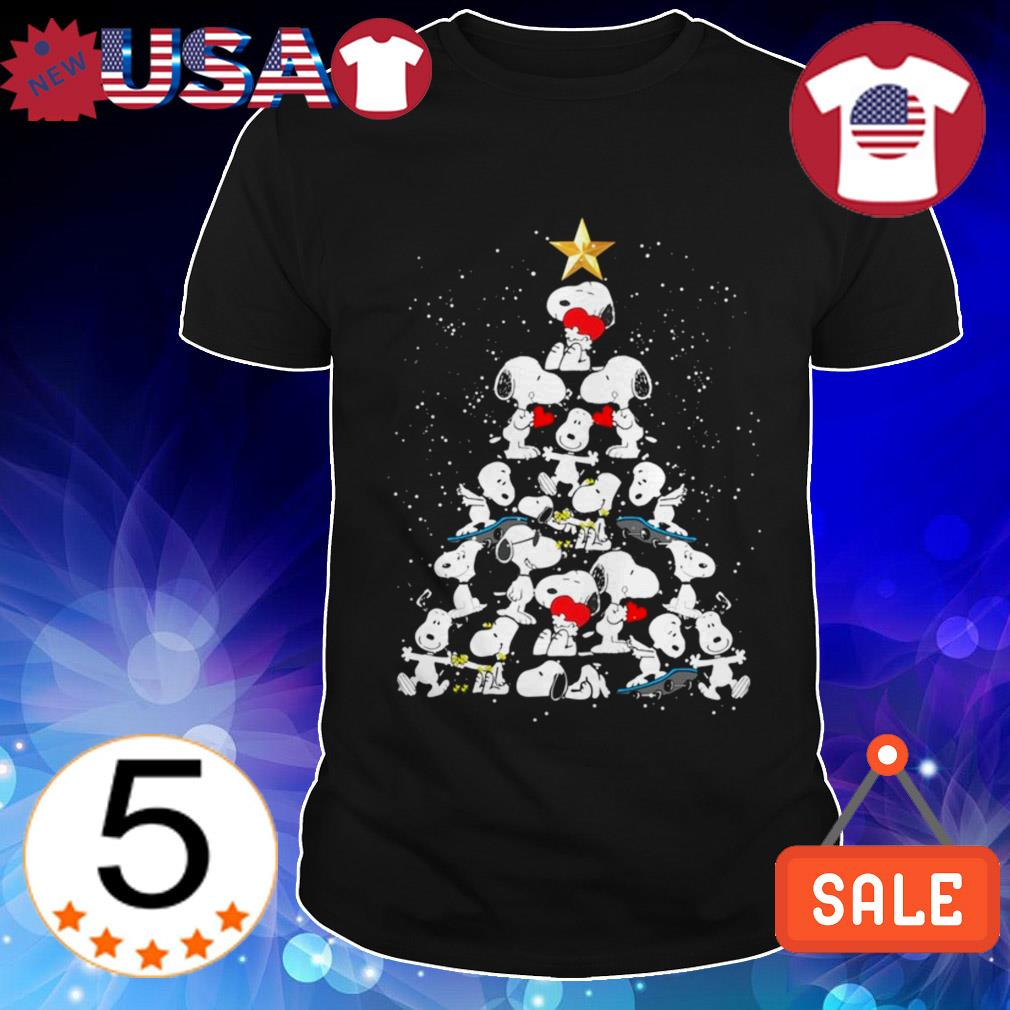 Peanuts Snoopy Christmas tree sweater