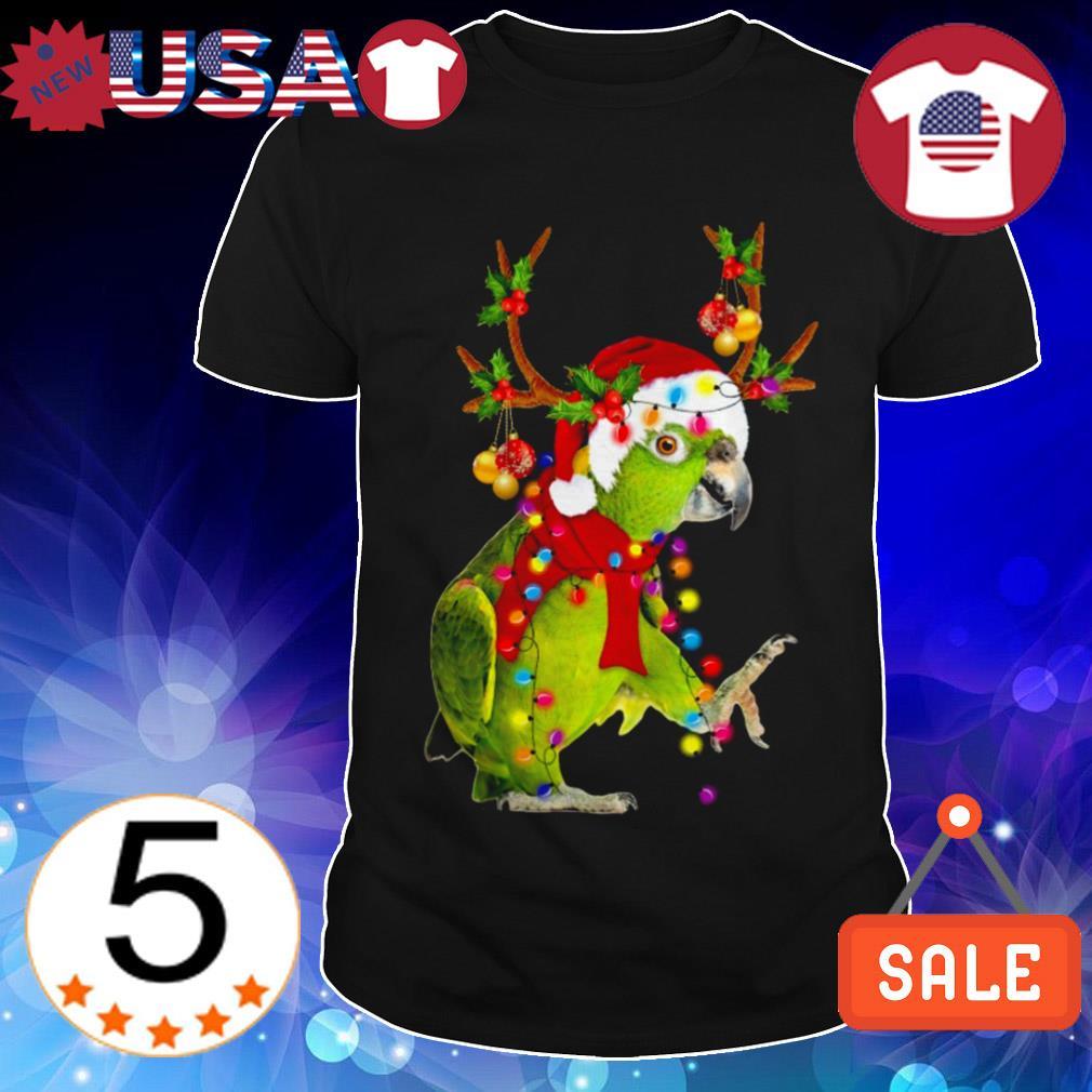 Parrot gorgeous reindeer Crewneck Christmas sweater