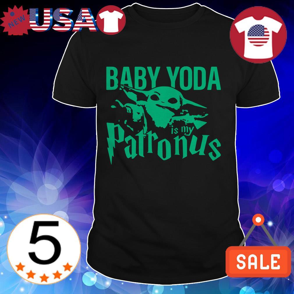 Star Wars Baby Yoda is my Patronus shirt