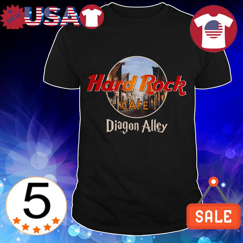 Hard Rock Cafe Diagon Alley Harry Potter shirt