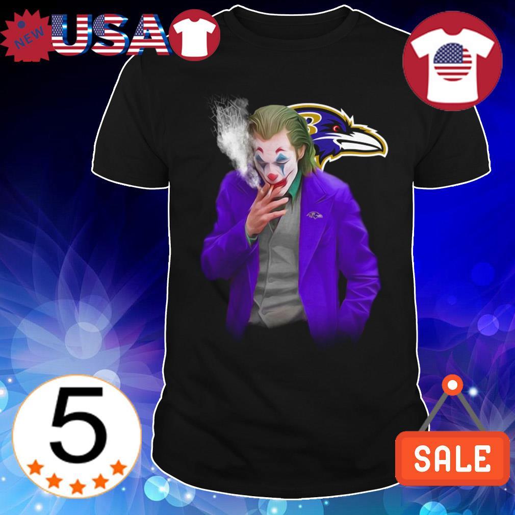 Joker Joaquin Phoenix Baltimore Ravens shirt