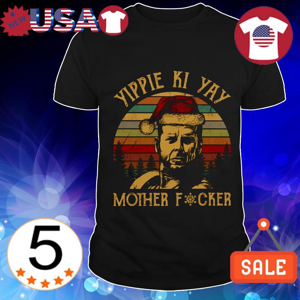 John McClane Yippee Ki Yay motherfucker vintage shirt