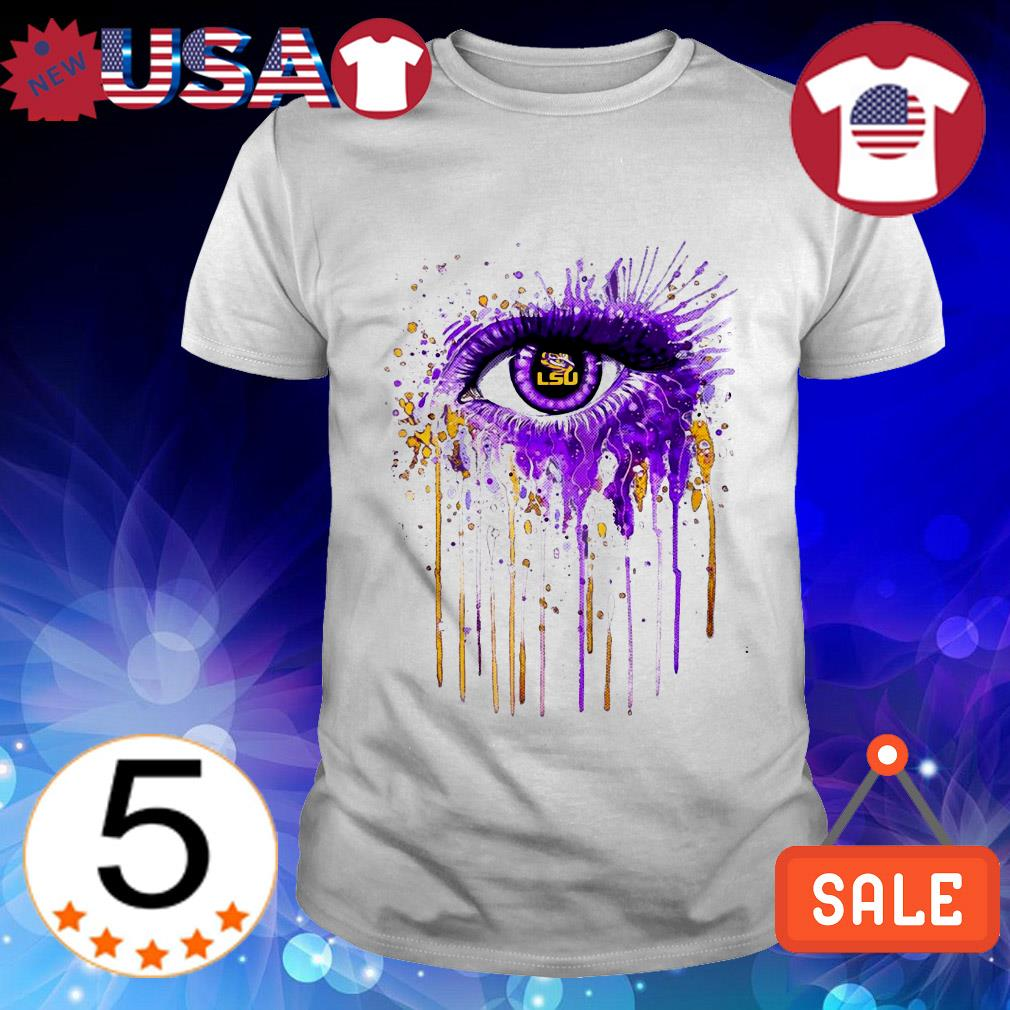 Official LSU Tigers eyes Art shirt