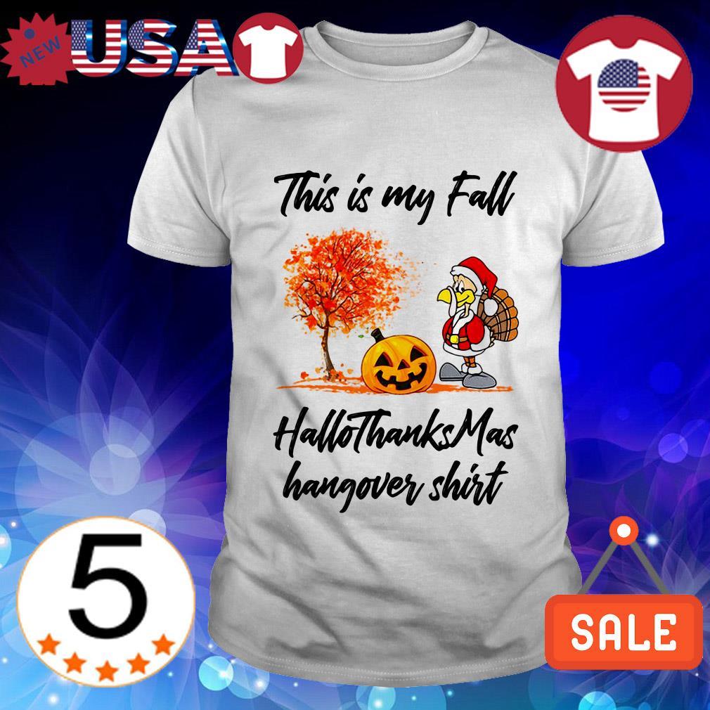 This is my fall HalloThanksMas hangover Christmas sweater