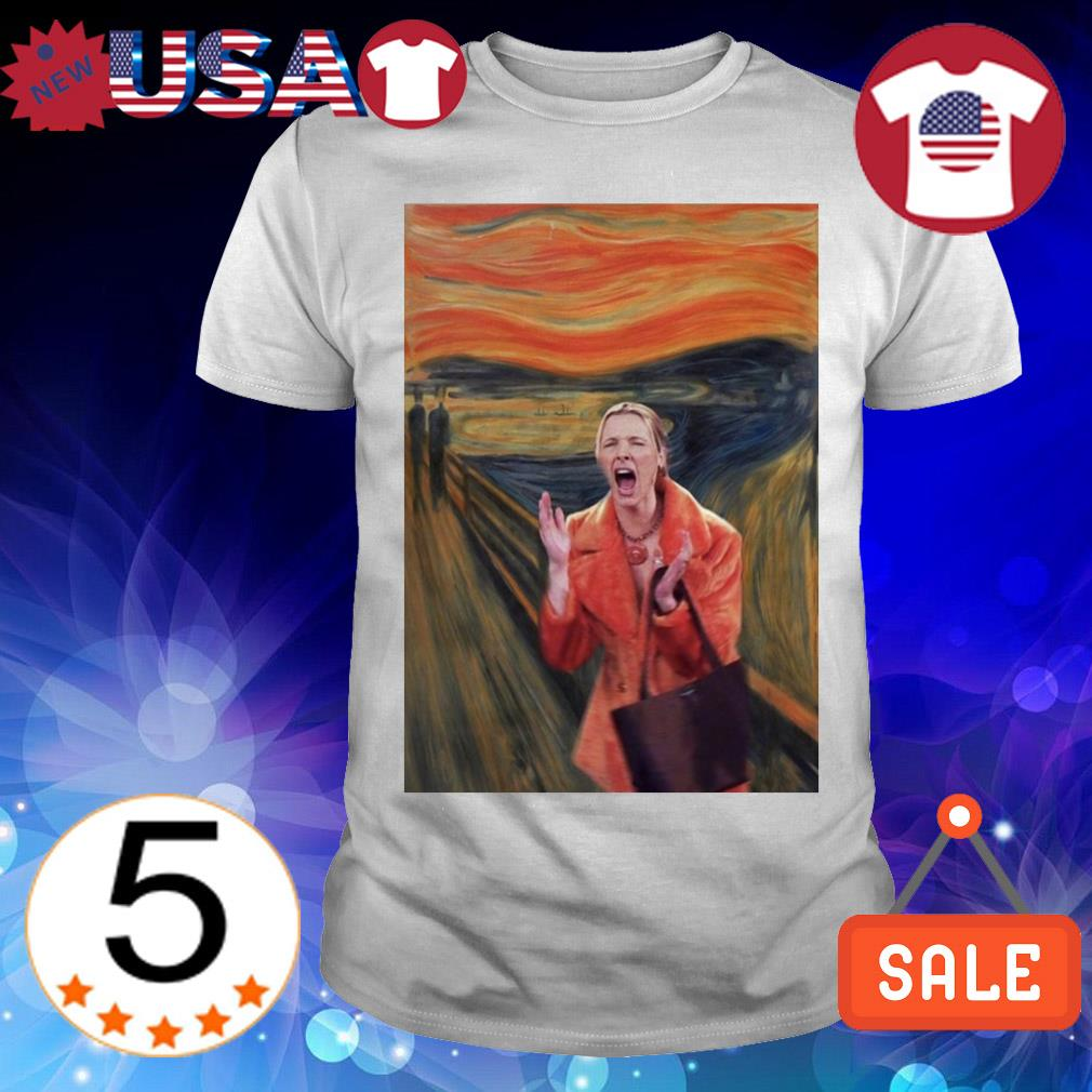 Phoebe Buffay The Scream Van Gogh shirt