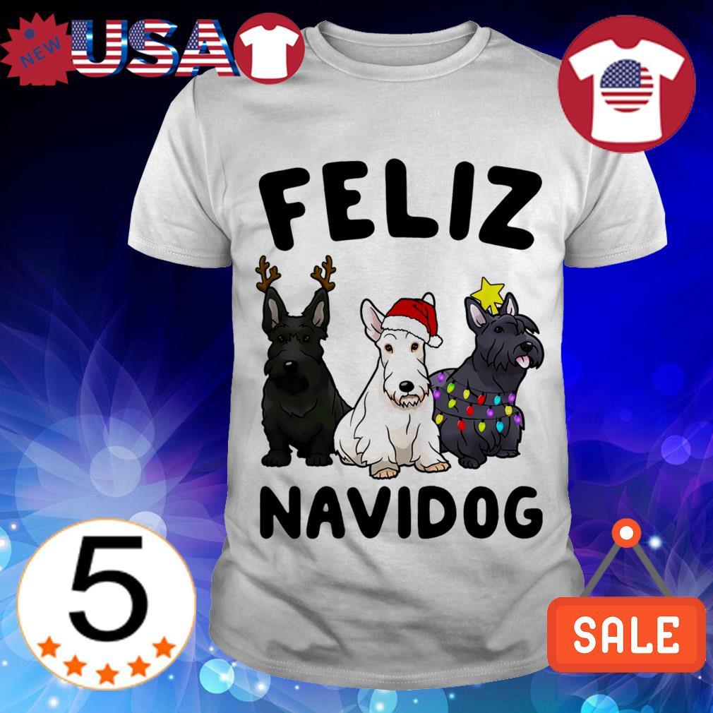 Feliz Navidog Scottish Terrier Dog Crewneck Christmas sweater