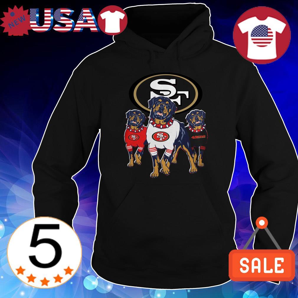 San Francisco 49ers Rottweiler shirt