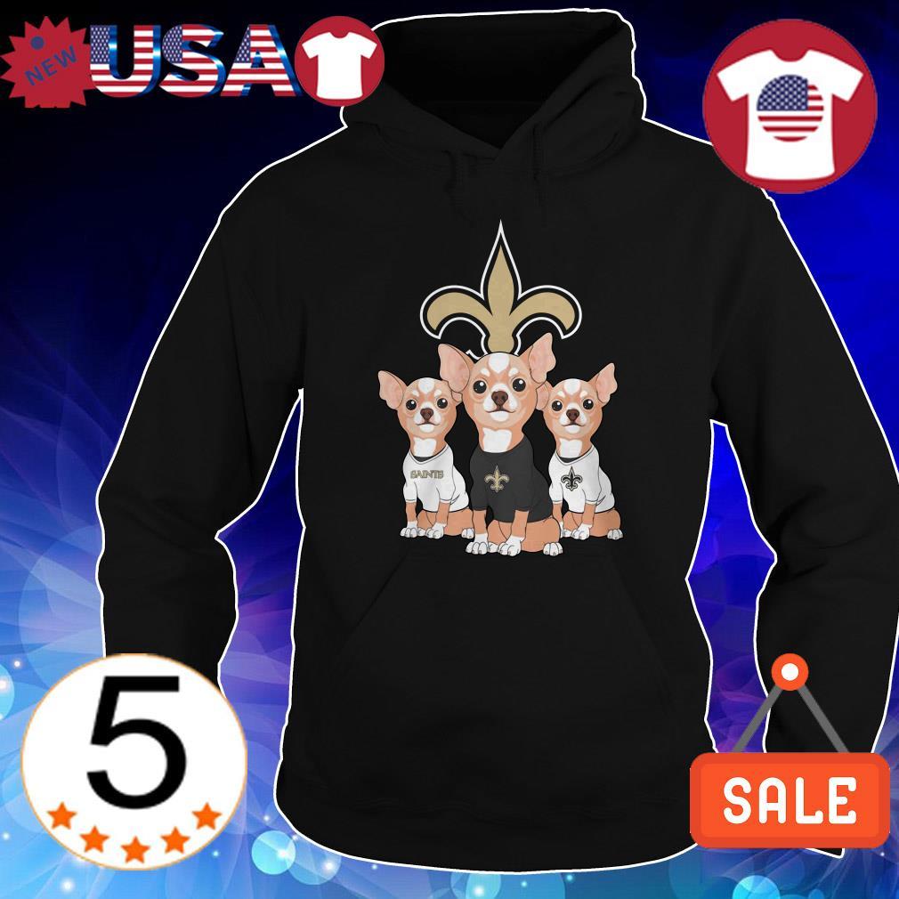 New Orleans Saints Chihuahuas shirt