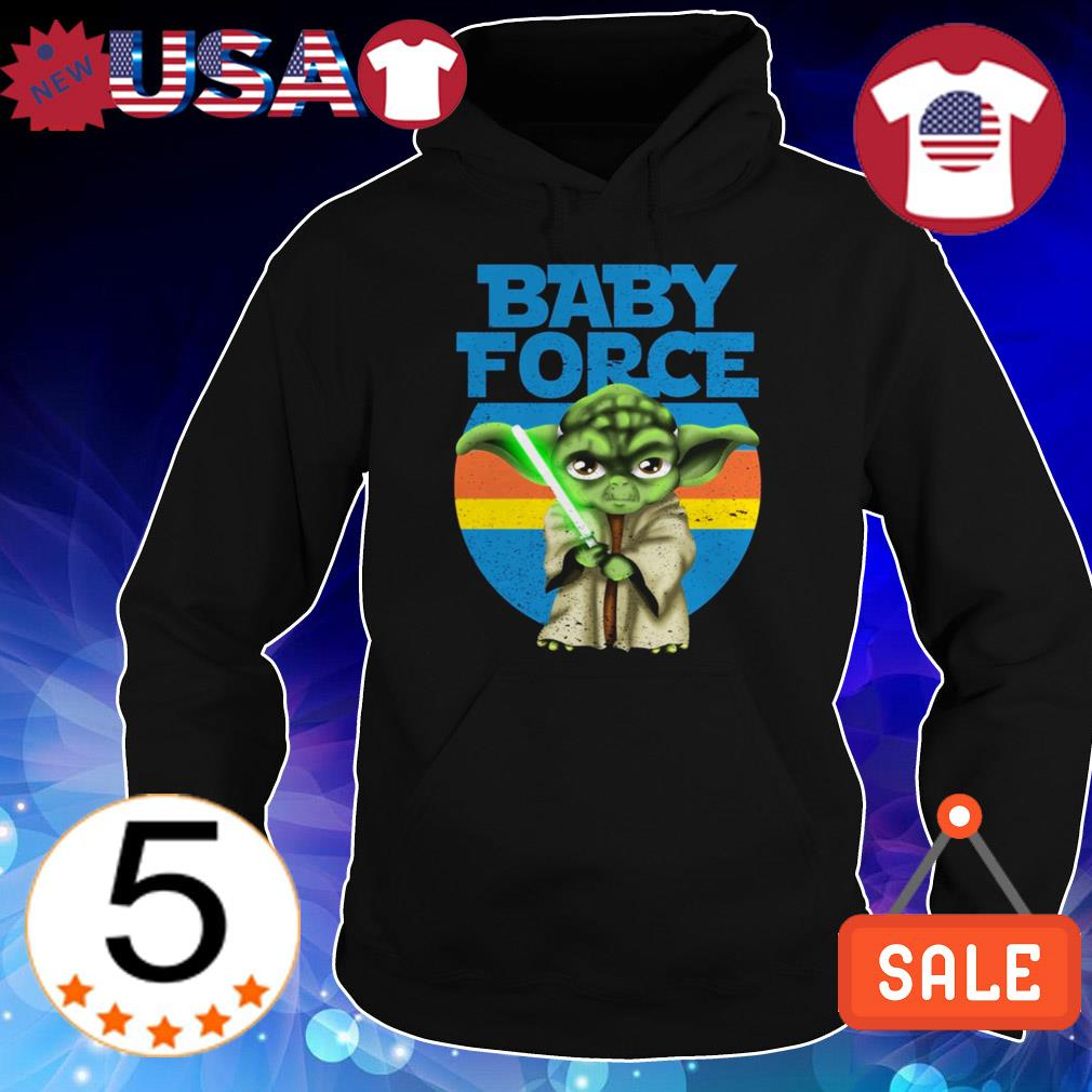 Star Wars Baby Force Yoda shirt