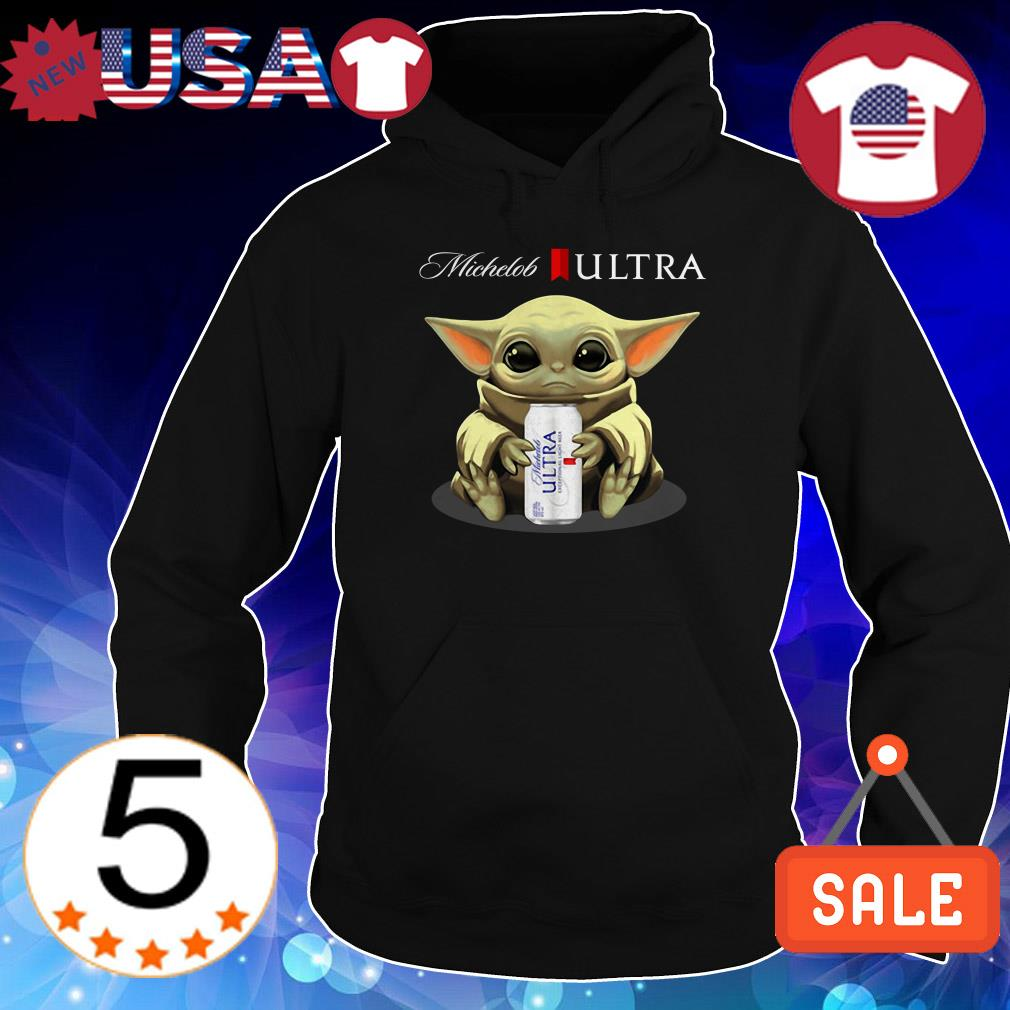 Star Wars Baby Yoda hug Michelob Ultra Beer shirt