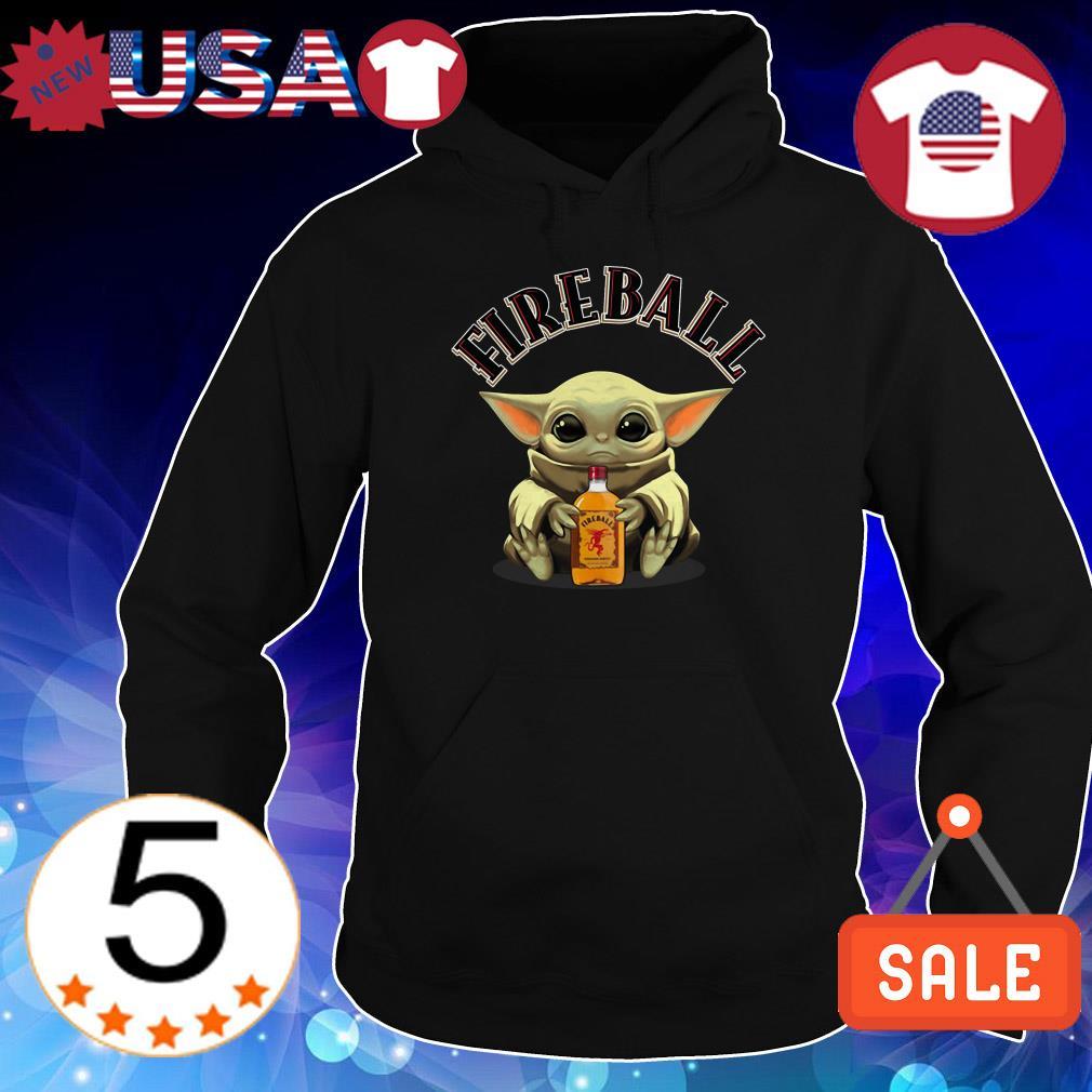 Star Wars hug Fireball Whiskey shirt